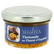 Specialita z tuňáka Thoinade s paprikou Espelette a sušenými rajčaty