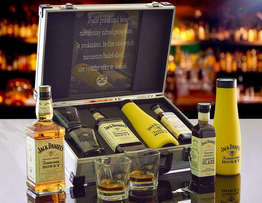Jack Daniels Honey Thermo AL Kufr Contraband