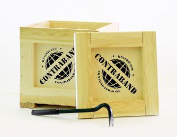 Dárková Bedna s páčidlem Contraband originální dárek pro muže