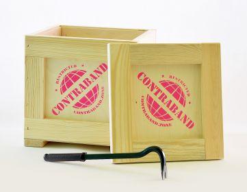 Dárková Bedna s páčidlem Contraband originální dárek pro ženu