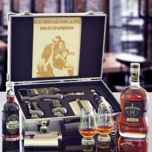 Appleton Estate 12 YO AL Kufr Contraband originální dárek pro muže