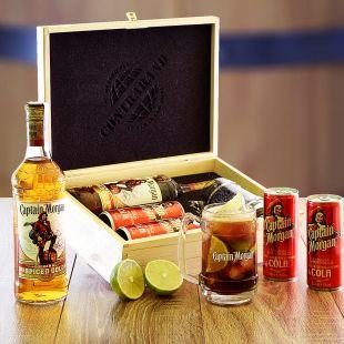 Captain Morgan Set Contraband Originální dárek pro muže