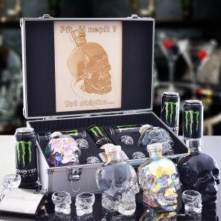 Crystal Head Duo AL Kufr Contraband Originální dárek pro muže