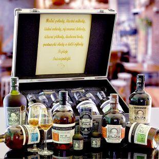 Diplomatico Quad Combo AL Kufr Contraband originální dárek pro muže