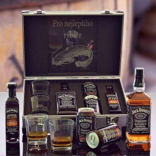 Jack Daniel's AL Kufr Contraband originální dárek pro muže