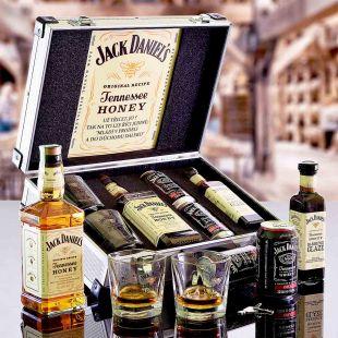 Jack Daniel's Honey AL Kufr Contraband originální dárek pro muže