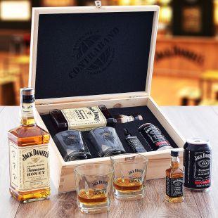 Jack Daniel's Honey Set Contraband Originální dárek pro muže