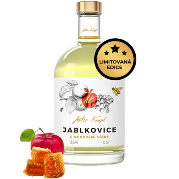 Anton Kaapl Jablkovice s medovými víčky