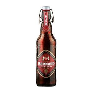 Pivo Bernard Jantarový Ležák