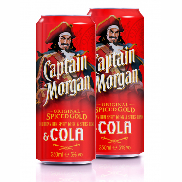 Captain Morgan & Cola