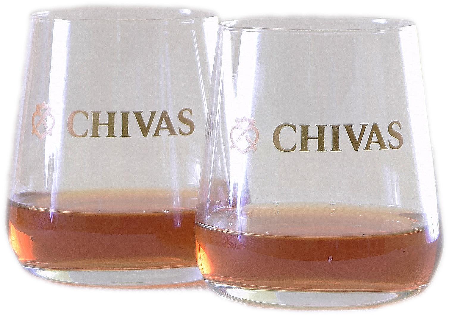 Skleničky Chivas