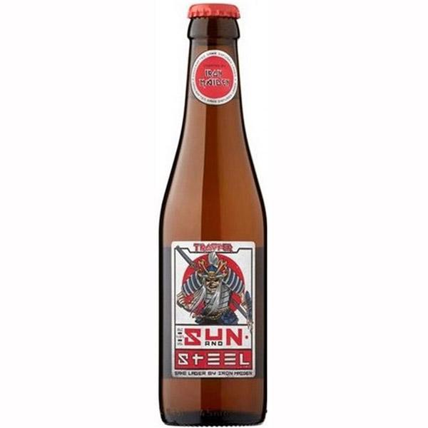Iron Maiden Trooper Sun and Steel