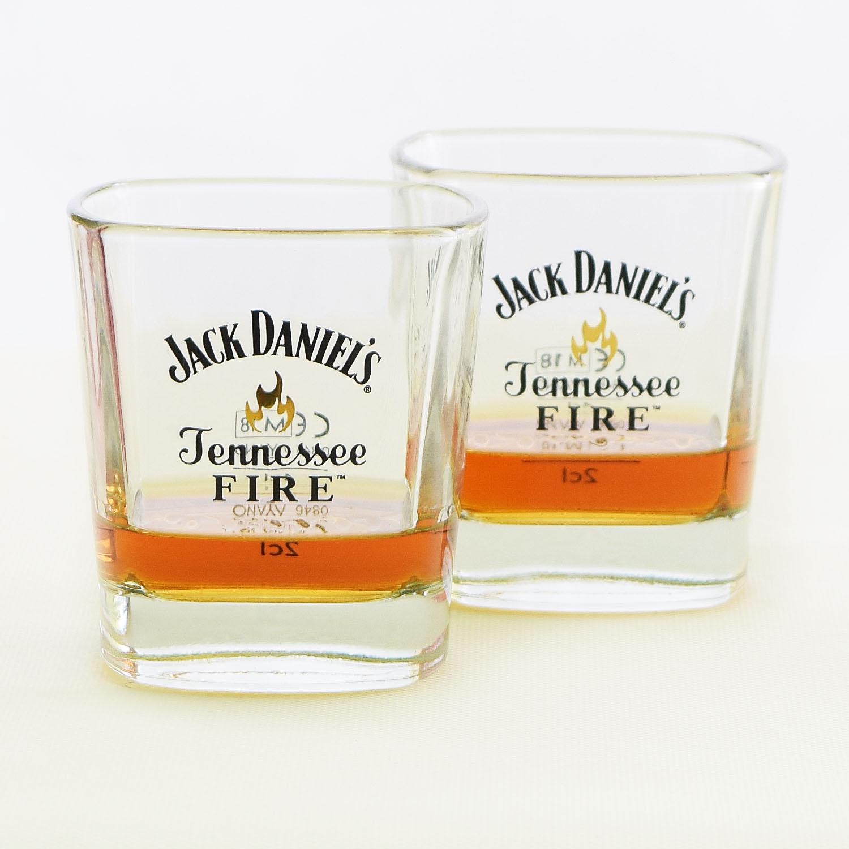 Skleničky na whisky Jack Daniel´s Fire