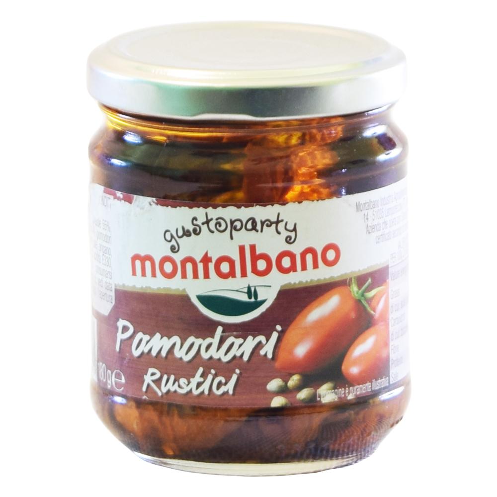 Montalbano Pomodori Rustici - Sušená rajčata ve slunečnicovém oleji