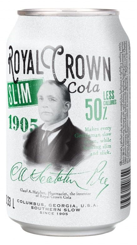 Royal Crown Slim Cola
