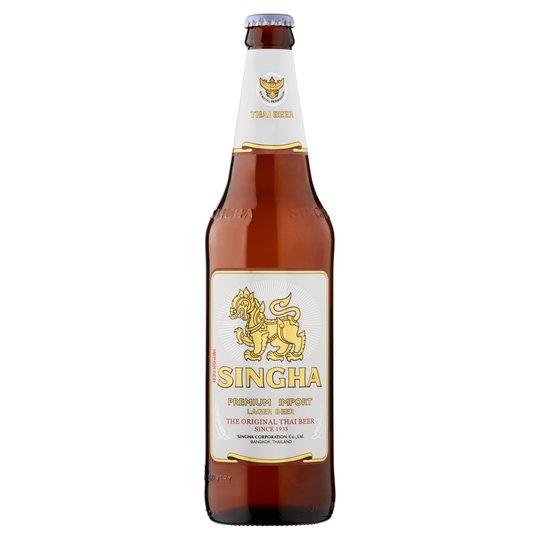 Pivo Singha beer