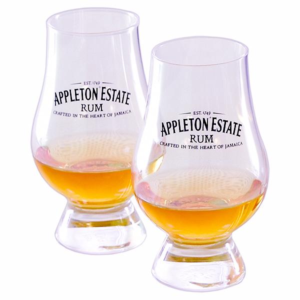 Skleničky na rum Appleton