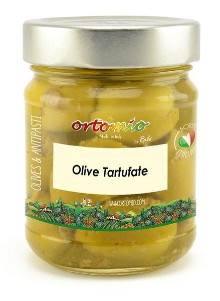 Olivy s černým lanýžem