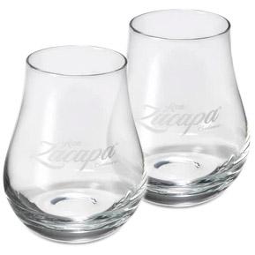 Rumové skleničky Zacapa